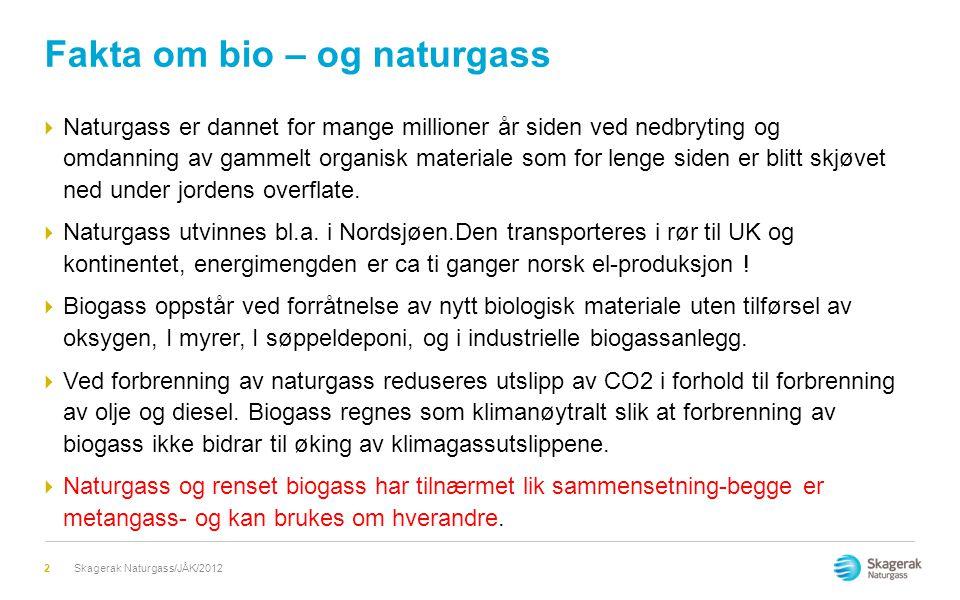 Fakta om bio – og naturgass