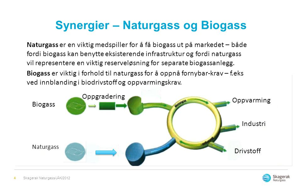 Synergier – Naturgass og Biogass