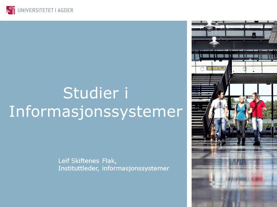 Studier i Informasjonssystemer