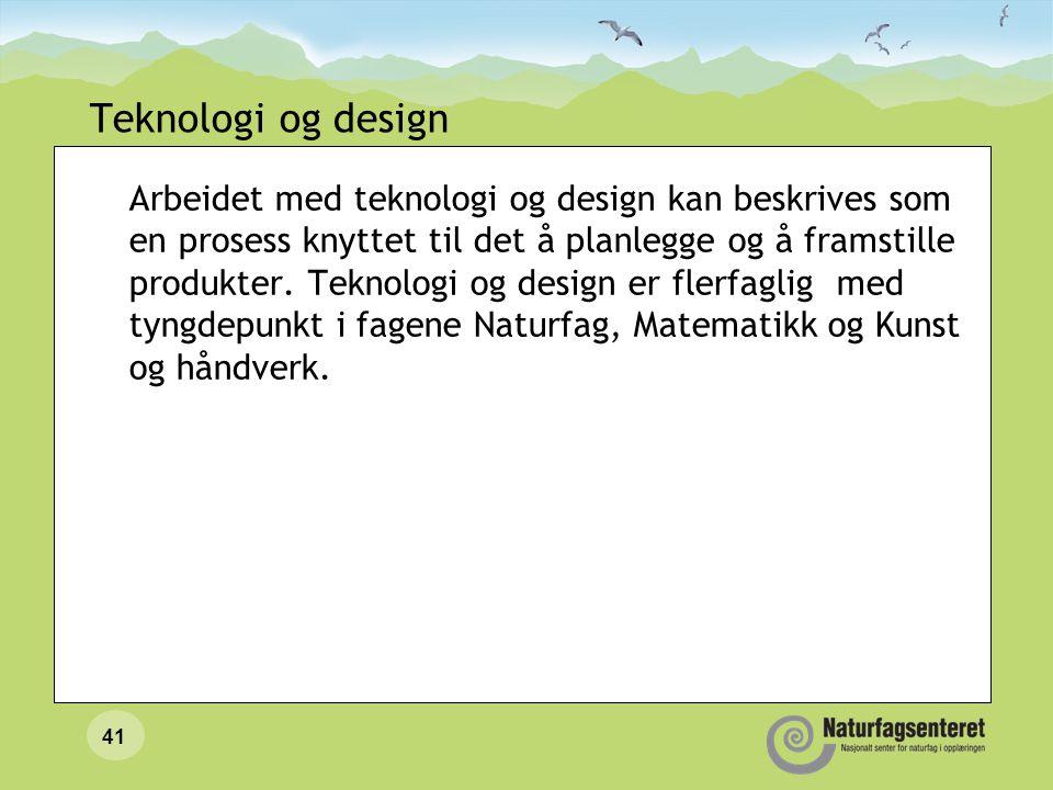 Teknologi og design