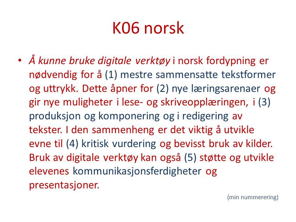 K06 norsk