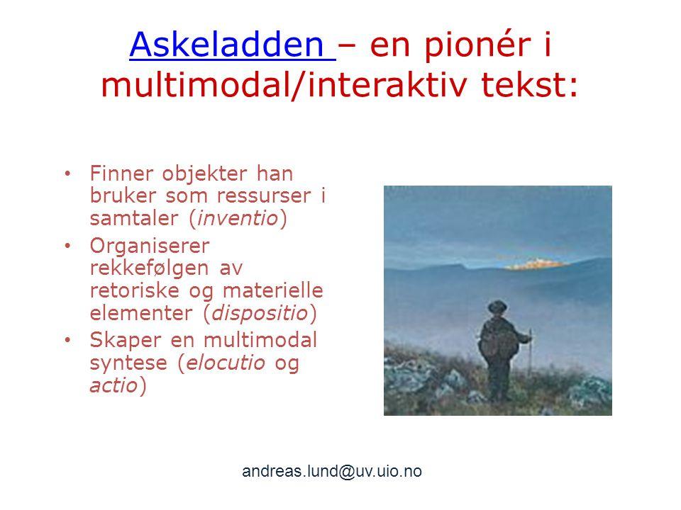 Askeladden – en pionér i multimodal/interaktiv tekst:
