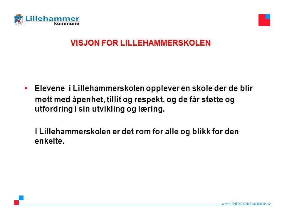 VISJON FOR LILLEHAMMERSKOLEN