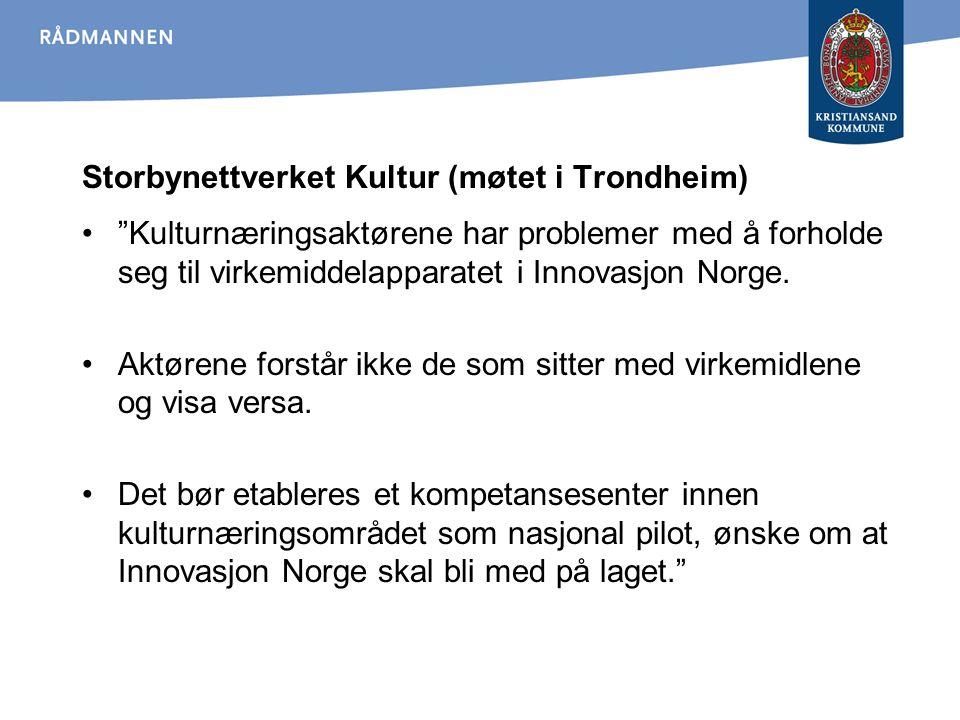 Storbynettverket Kultur (møtet i Trondheim)