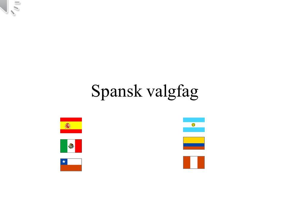 Spansk valgfag