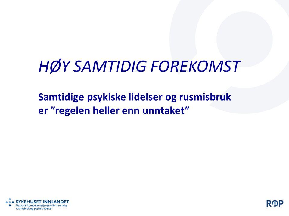 HØY SAMTIDIG FOREKOMST
