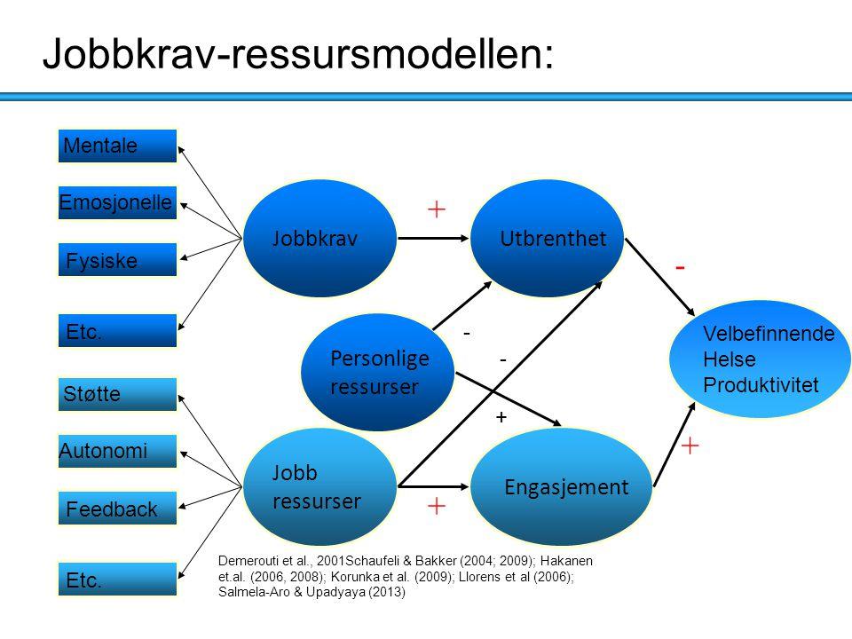 Jobbkrav-ressursmodellen: