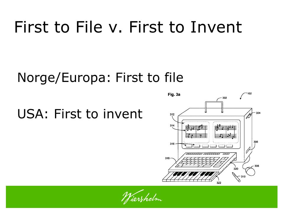 First to File v. First to Invent