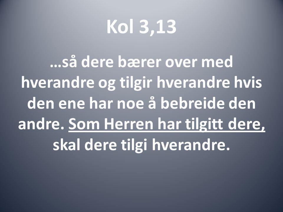 Kol 3,13