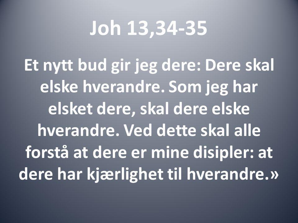 Joh 13,34-35