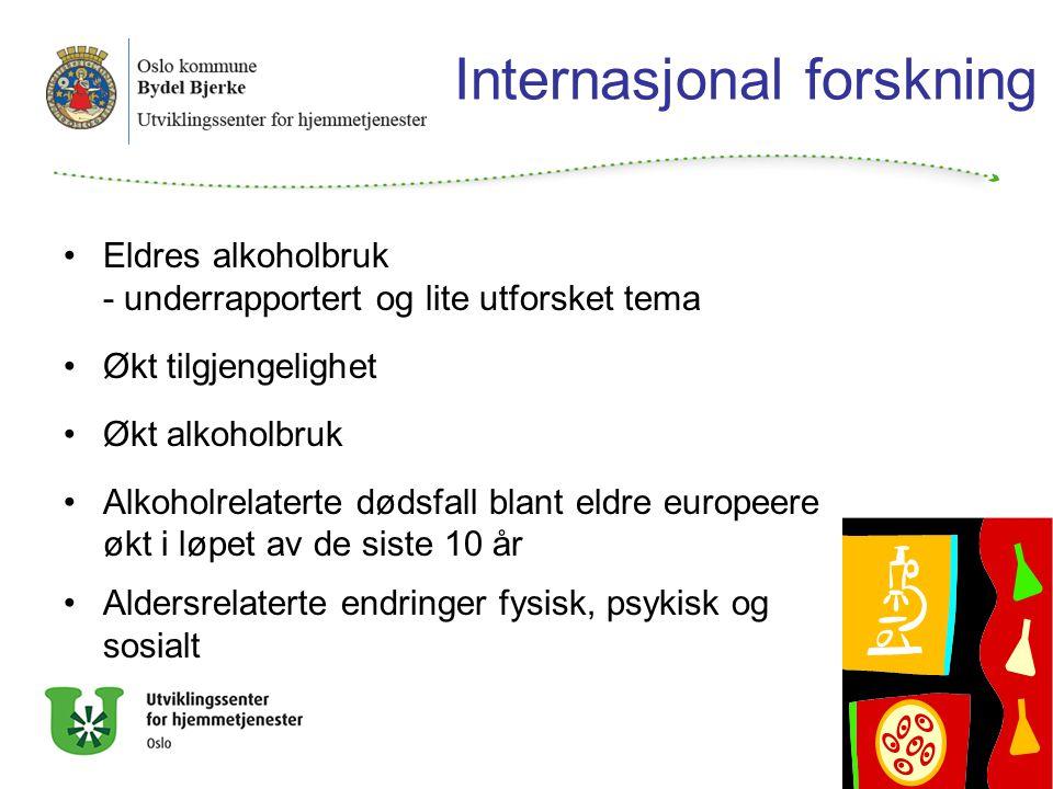 Internasjonal forskning