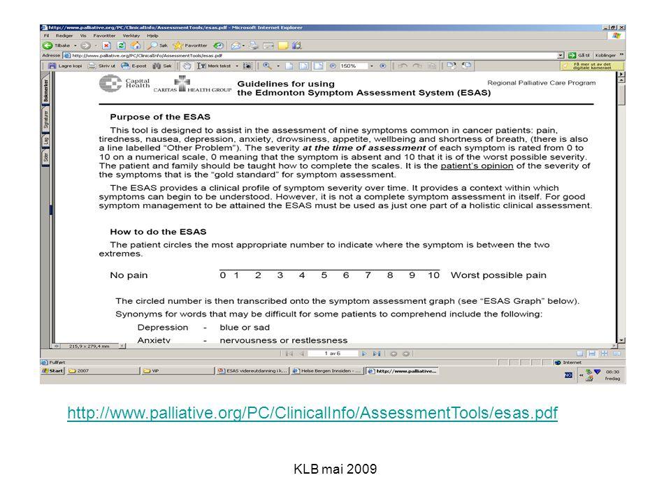http://www.palliative.org/PC/ClinicalInfo/AssessmentTools/esas.pdf KLB mai 2009