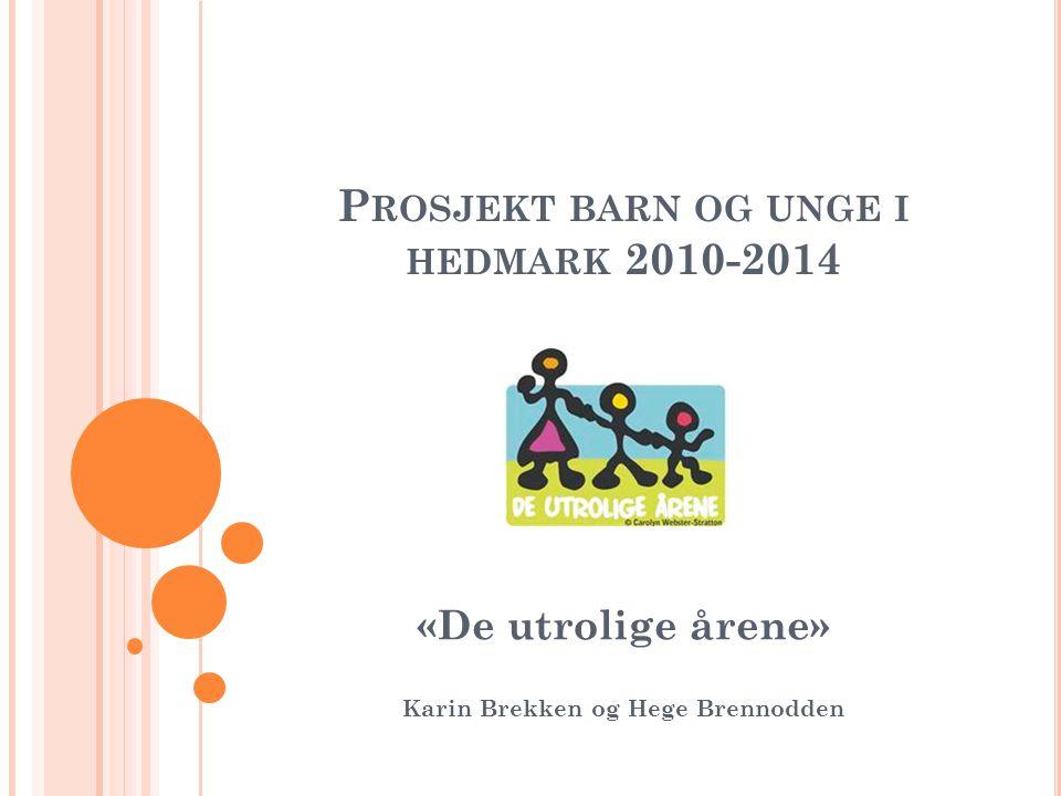 Prosjekt barn og unge i hedmark 2010-2014