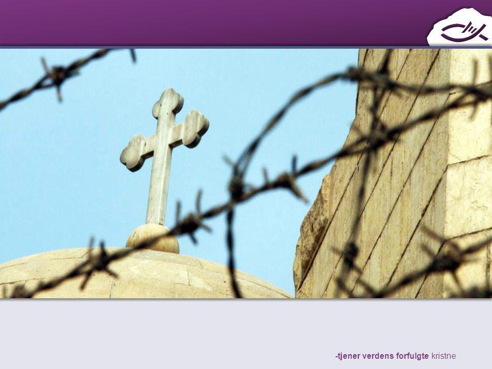 -tjener verdens forfulgte kristne