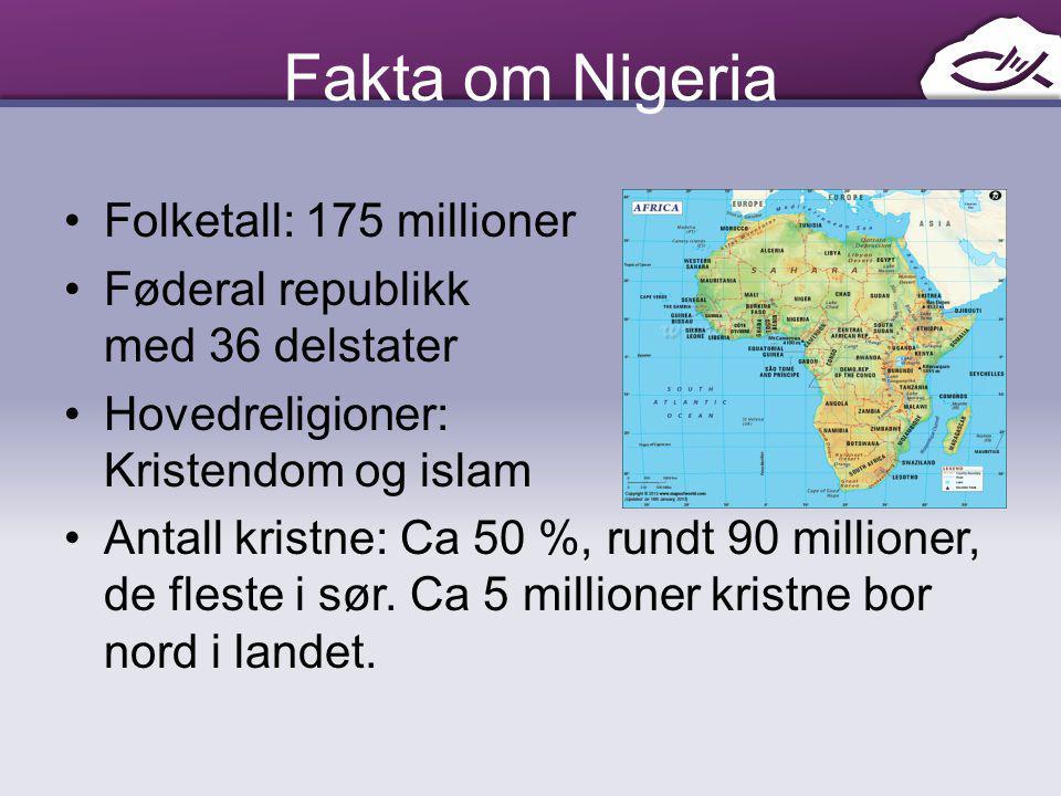 Fakta om Nigeria Folketall: 175 millioner