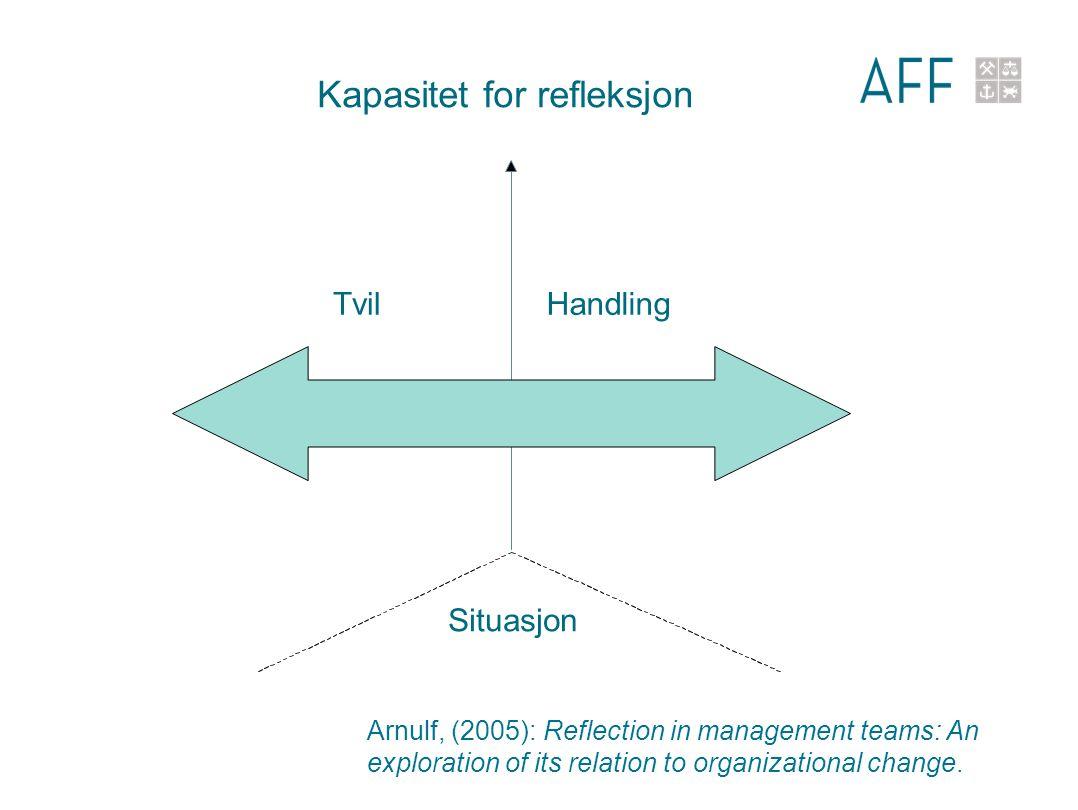 Kapasitet for refleksjon