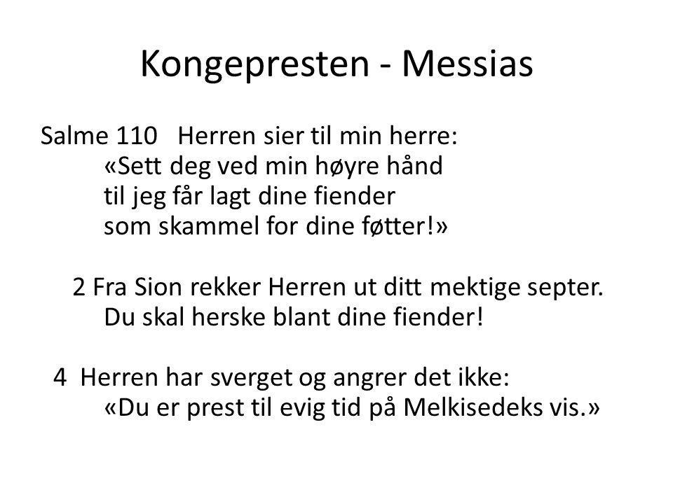 Kongepresten - Messias