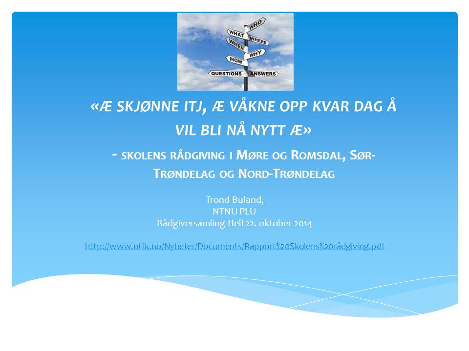 Rådgiversamling Hell 22. oktober 2014