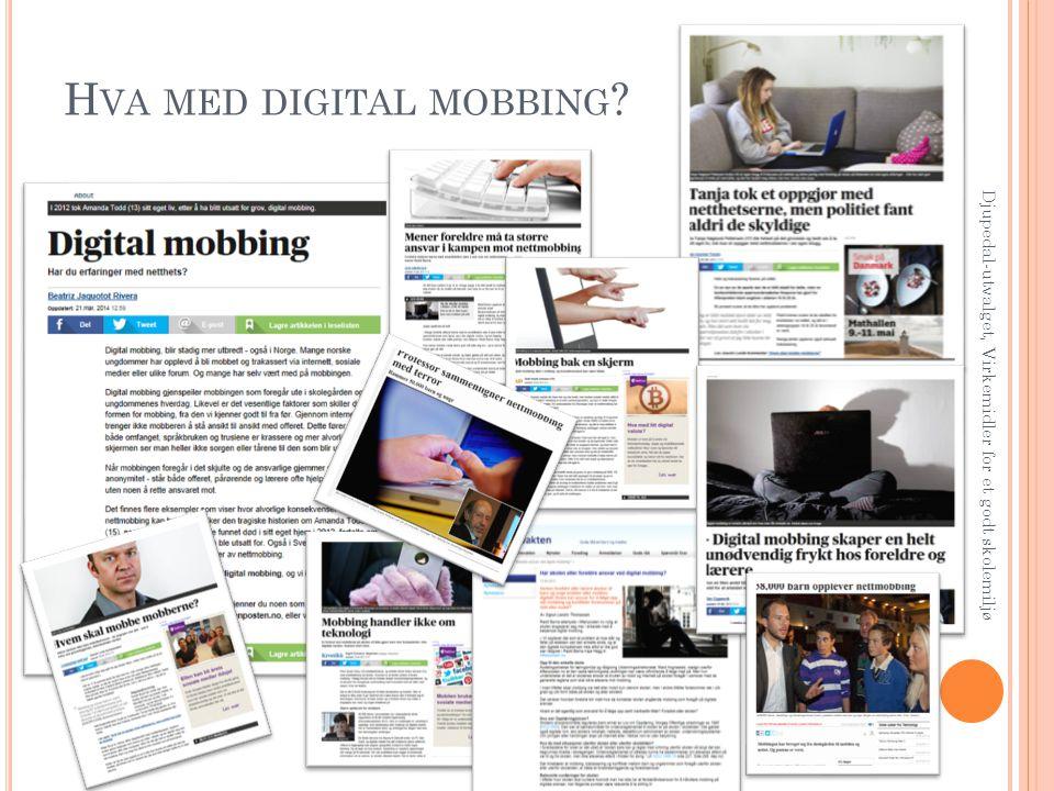 Hva med digital mobbing