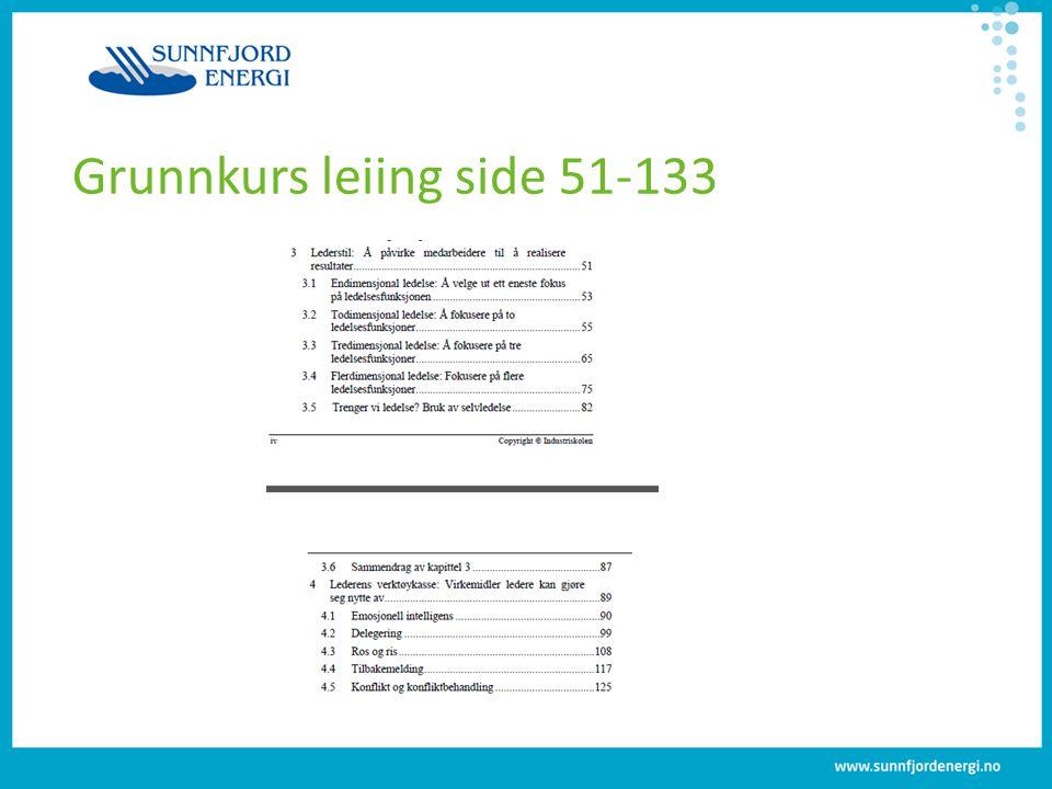 Grunnkurs leiing side 51-133