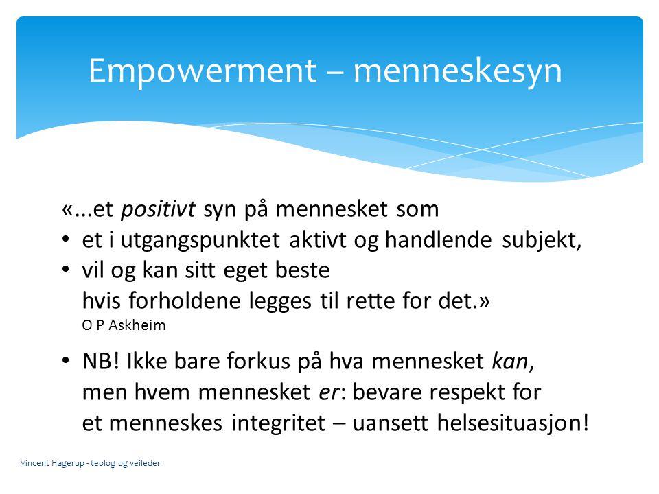 Empowerment – menneskesyn