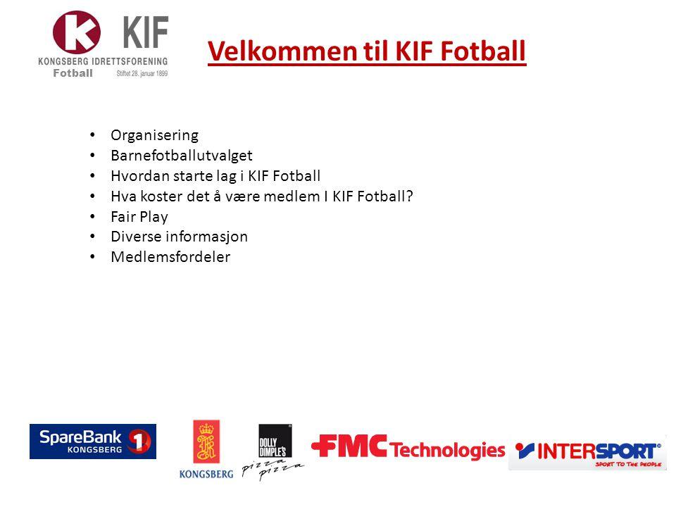Velkommen til KIF Fotball