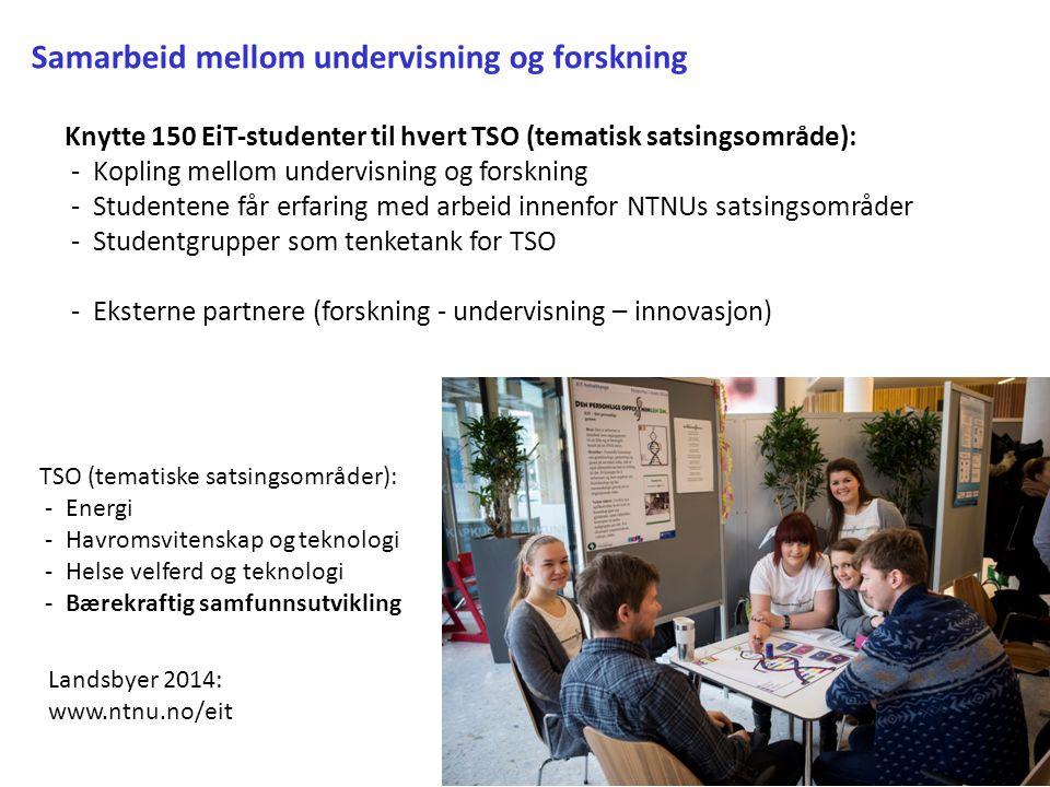 Samarbeid mellom undervisning og forskning