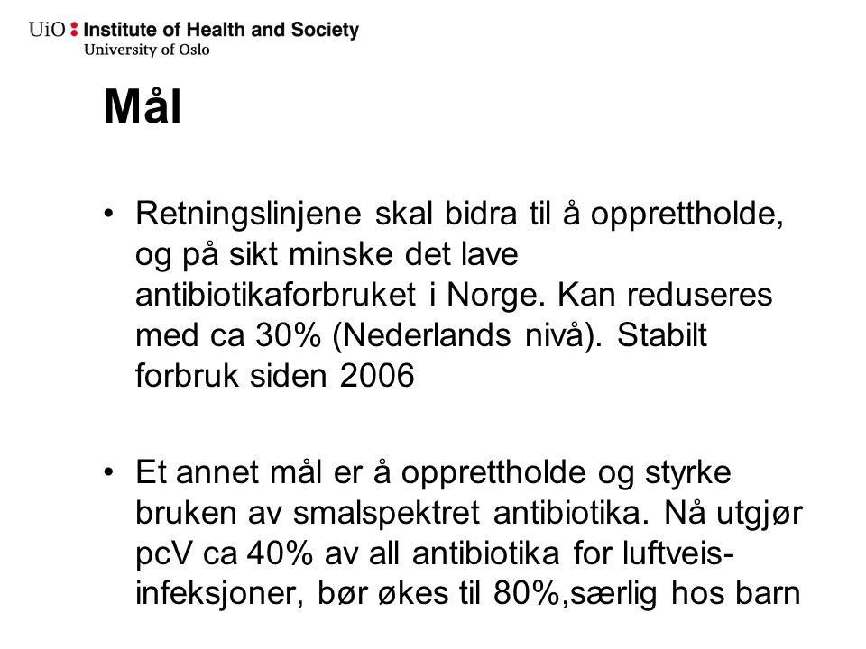 MRSA i Norge 1995 - 2012