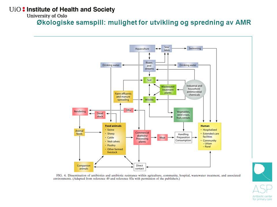 Helhetlig perspektiv Moderne medisin basert på virksom antibiotika, a societal drug. Skape et politisk press på mange områder.