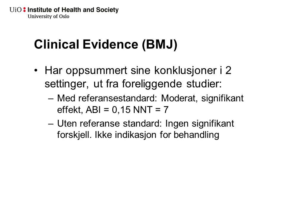 Behandling akutt sinusitt i Norge