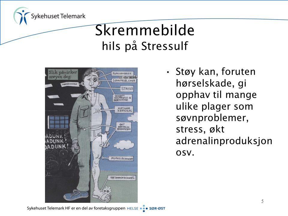 Skremmebilde hils på Stressulf