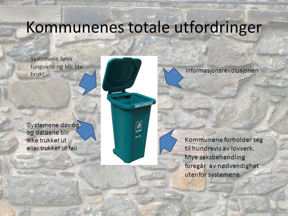 Kommunenes totale utfordringer
