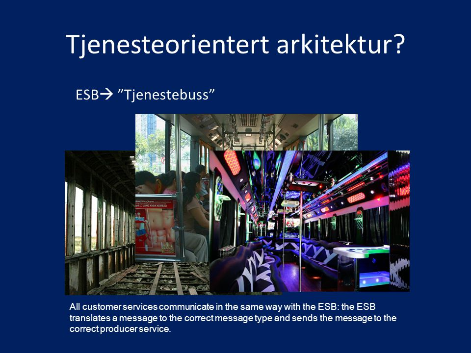 Tjenesteorientert arkitektur
