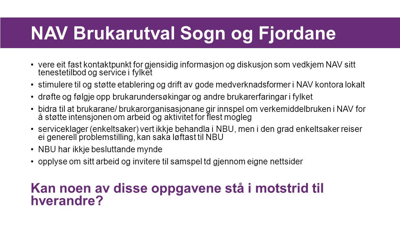 NAV Brukarutval Sogn og Fjordane