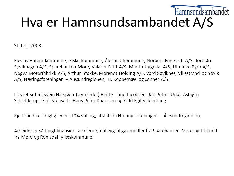 Hva er Hamnsundsambandet A/S