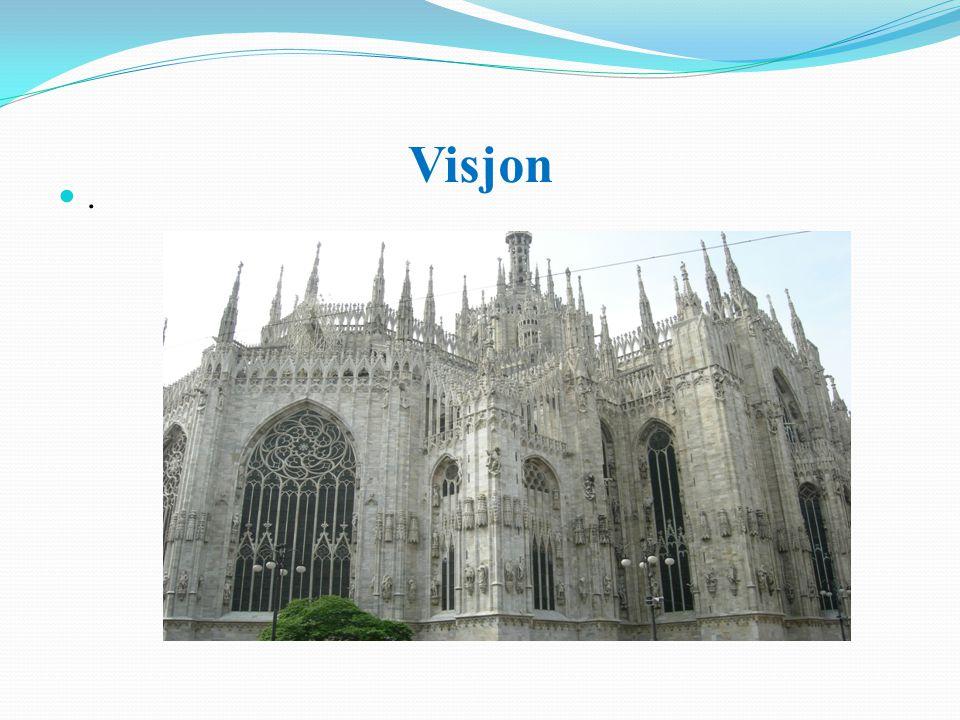 Visjon . Prosjekt eller fremtidsutsikter. Ordvalg former tanken