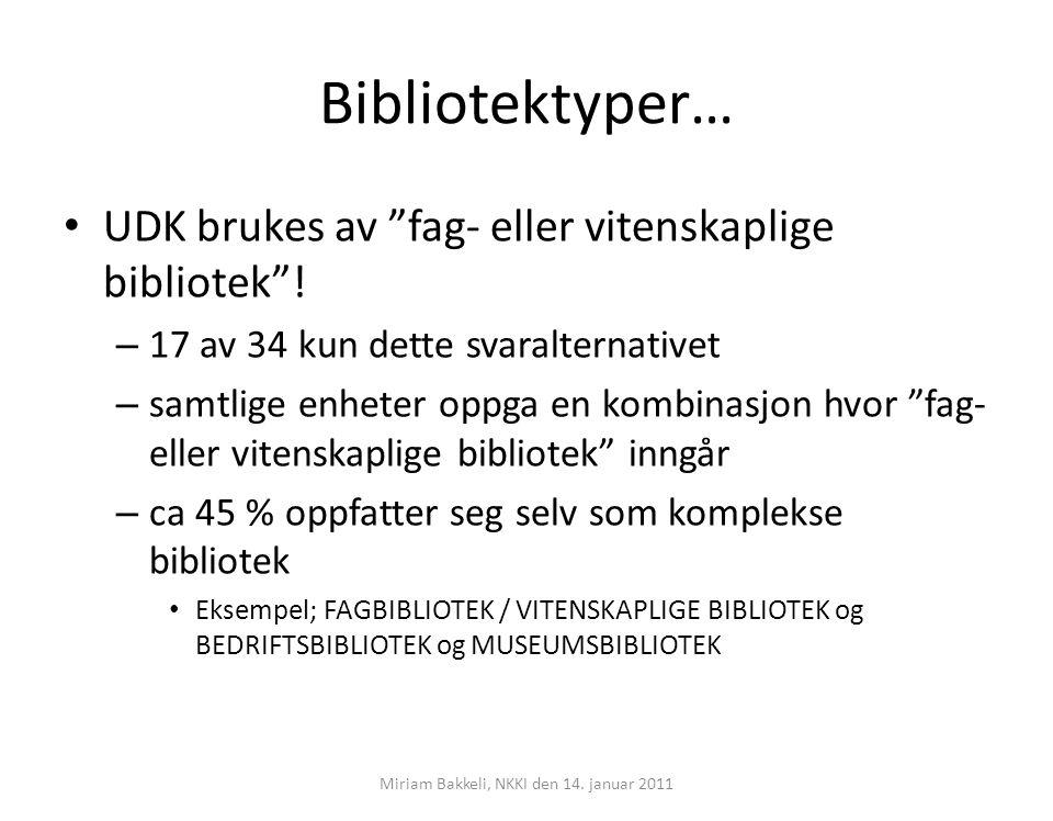 Miriam Bakkeli, NKKI den 14. januar 2011