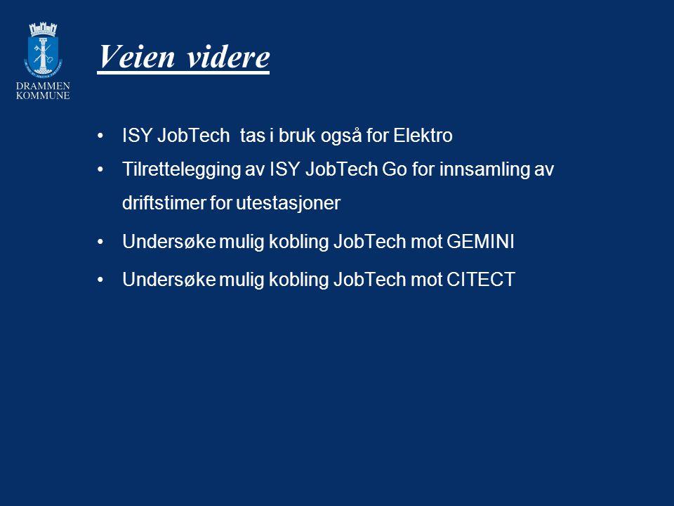 Veien videre ISY JobTech tas i bruk også for Elektro