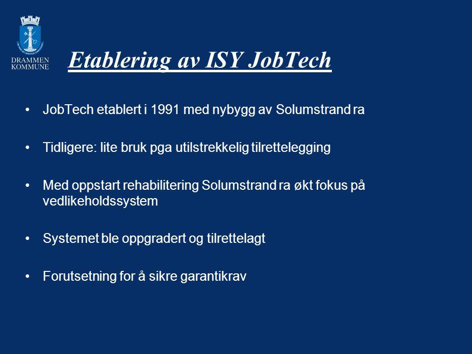 Etablering av ISY JobTech