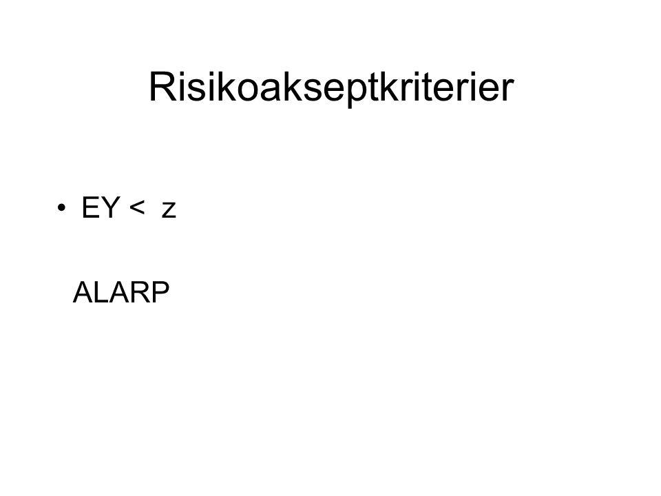 Risikoakseptkriterier