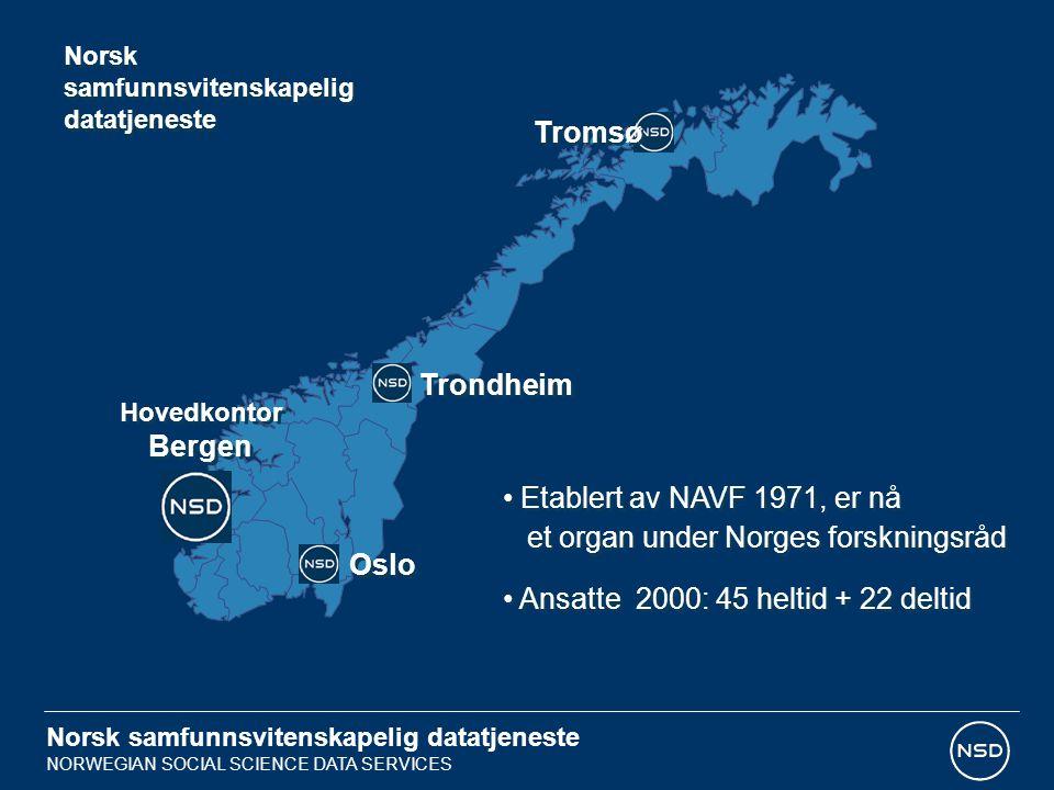 et organ under Norges forskningsråd
