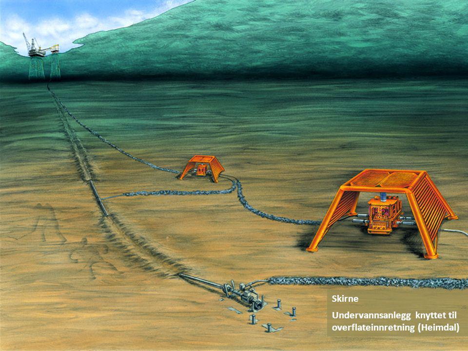 Skirne Undervannsanlegg knyttet til overflateinnretning (Heimdal)