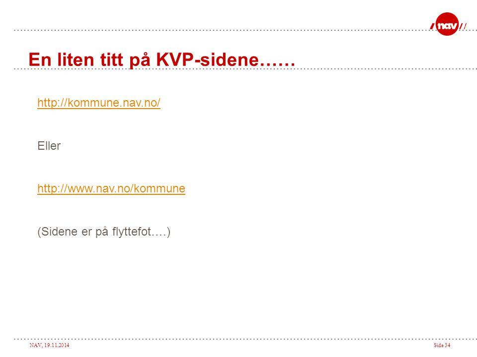 En liten titt på KVP-sidene……