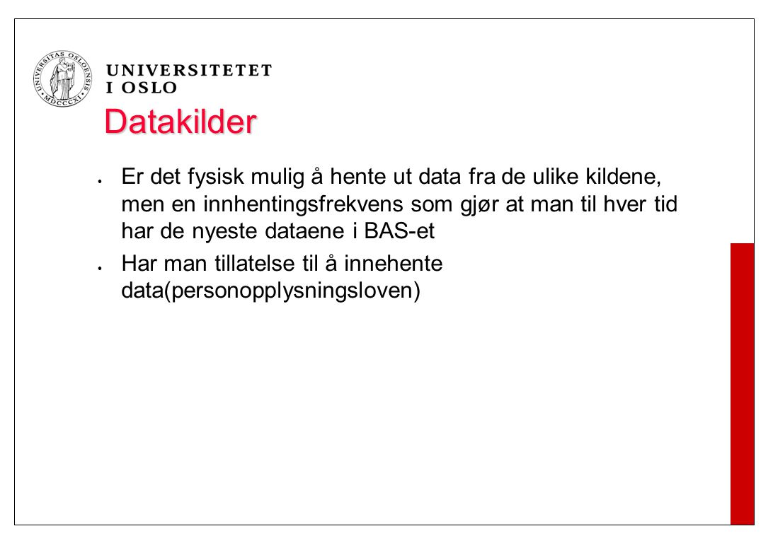 Autorative datakilder
