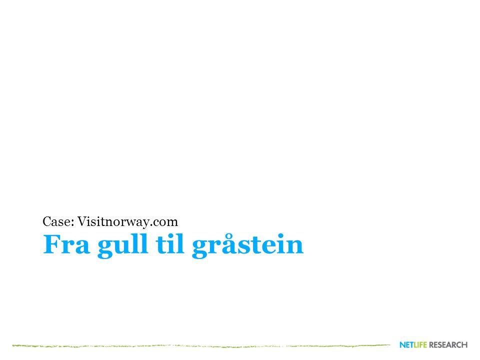 Case: Visitnorway.com Fra gull til gråstein