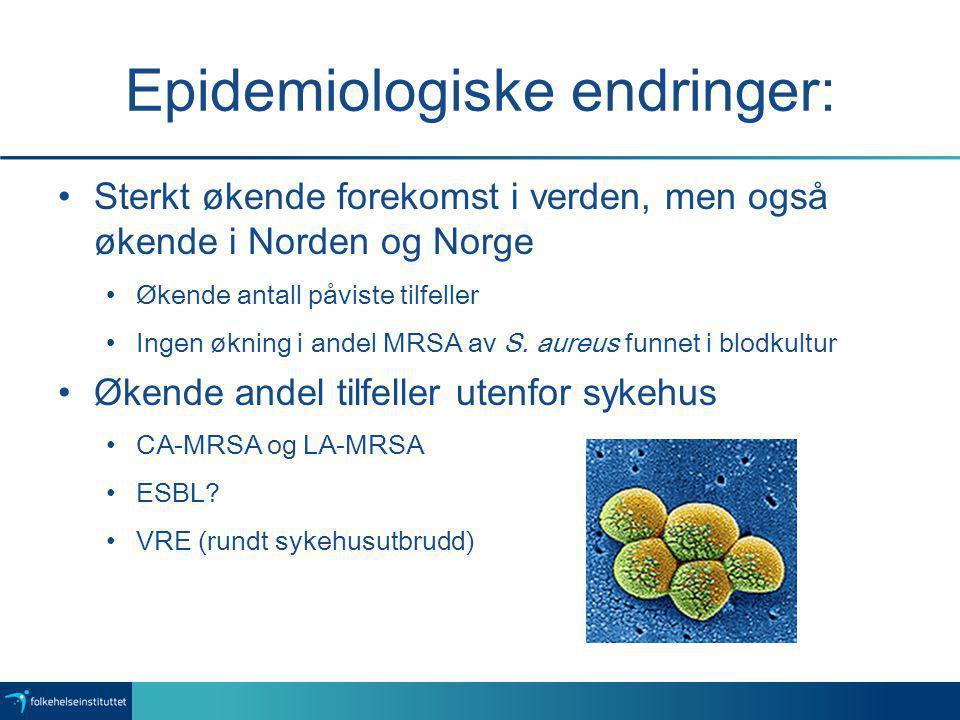 Epidemiologiske endringer: