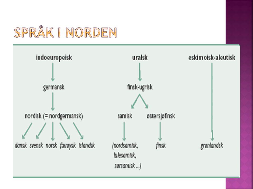 Språk i Norden
