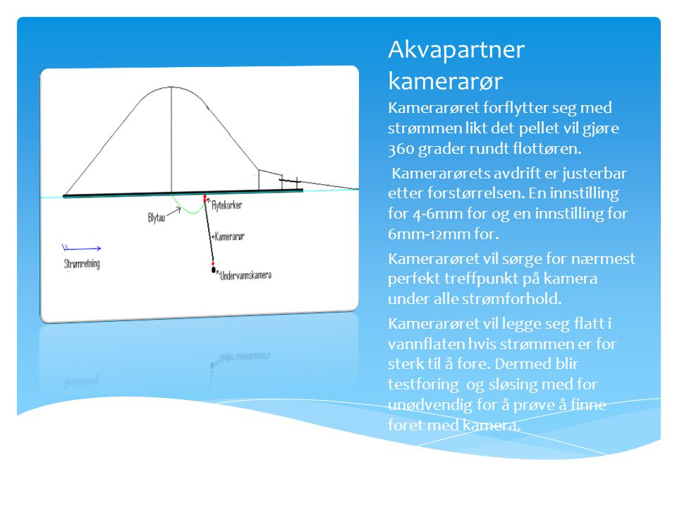 Akvapartner kamerarør