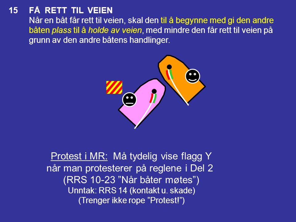 Protest i MR: Må tydelig vise flagg Y