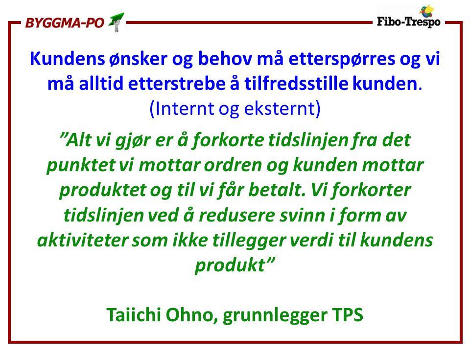 Taiichi Ohno, grunnlegger TPS